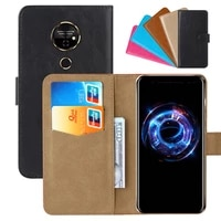 luxury wallet case for tp link neffos p1 pu leather retro flip cover magnetic fashion cases strap