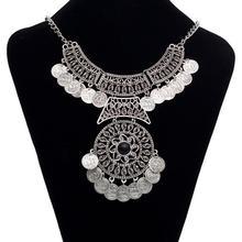 Collier pendentifs à col à franges, collier à franges, collier Vintage, Boho, Festival ethnique turc, collier à déclaration épaisse