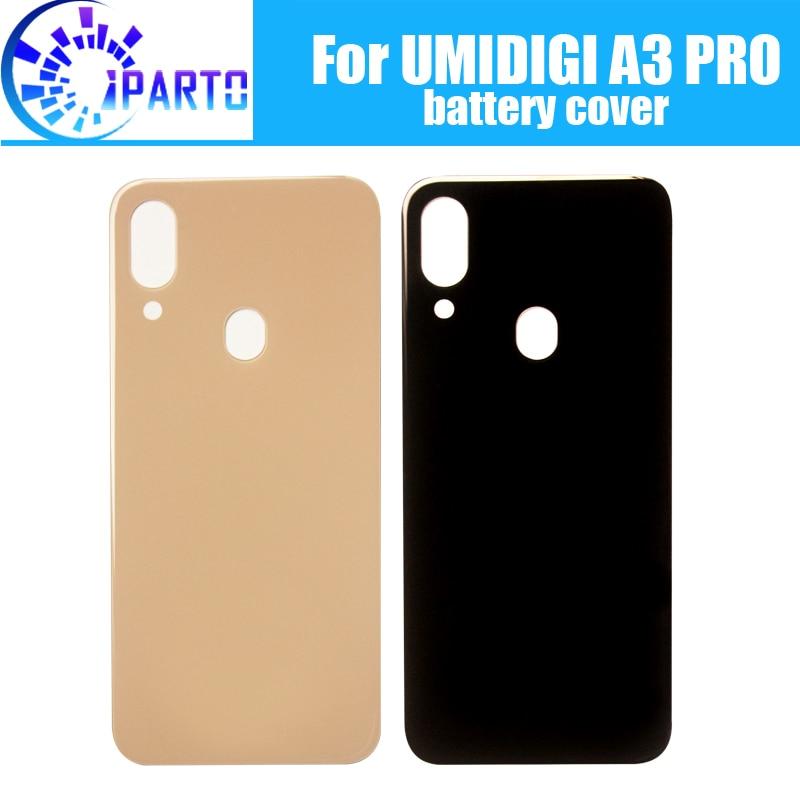 UMIDIGI A3 PRO крышка батареи Замена 100% оригинальный новый прочный задний чехол мобильный телефон аксессуар для UMIDIGI A3 PRO