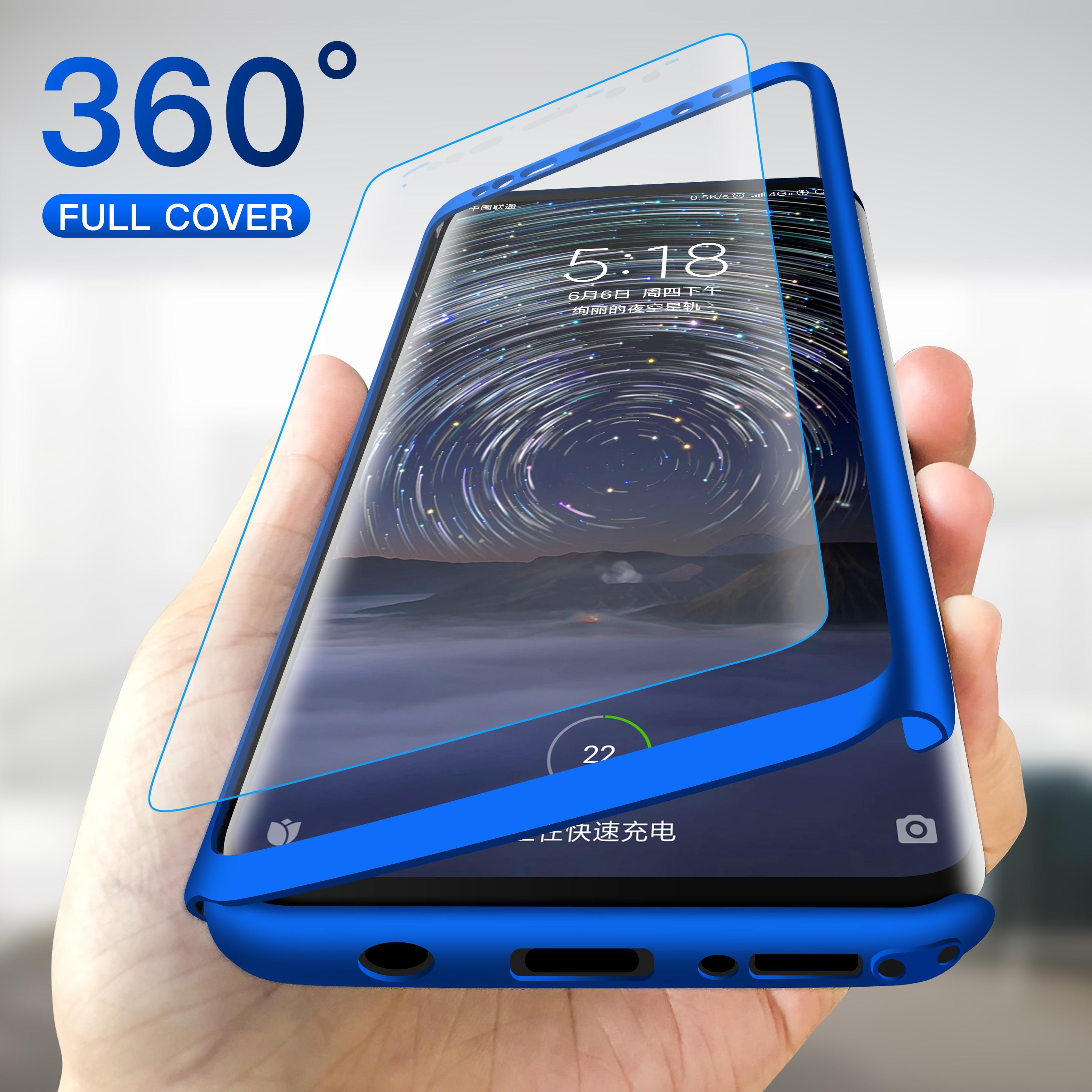 Роскошный чехол 360 градусов для Samsung Galaxy S7 Edge S8 S9 S10 Plus S10E Note 8 9 ударопрочный чехол M10 A10 A20 A30 A40 A50 A70