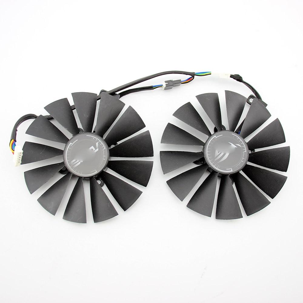 95 мм T129215SM охлаждающий вентилятор GPU для ASUS ROG POSEIDON GTX1080TI STRIX Замена видеокарты
