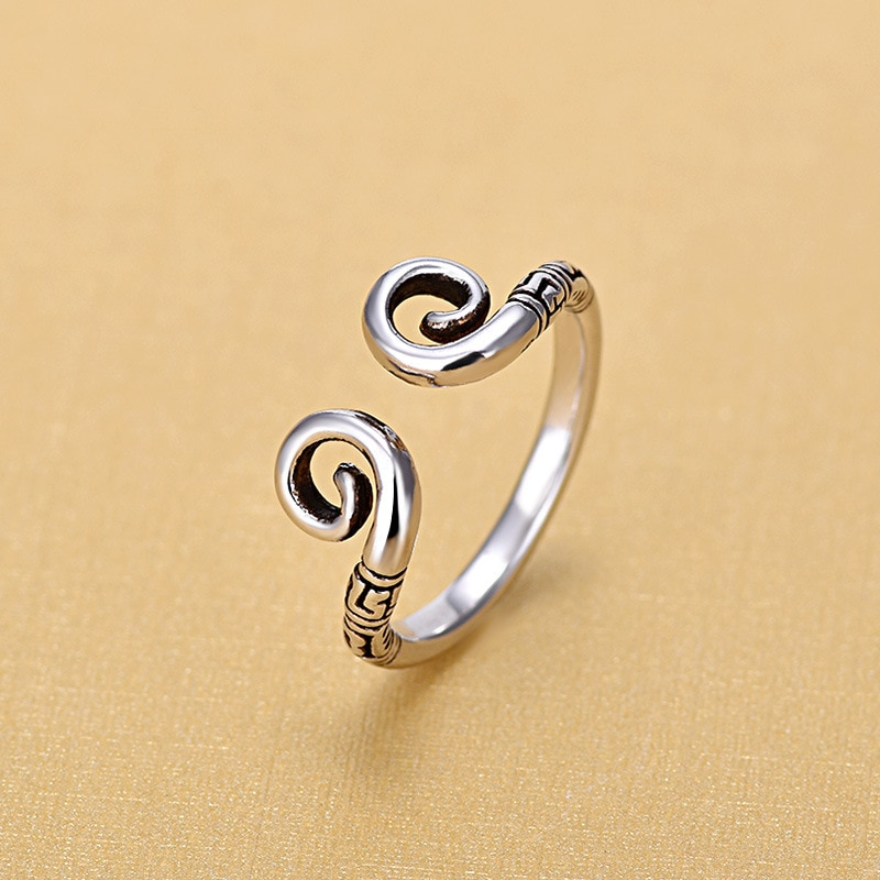 2018 New Arrivals Thai 925 Sterling Silver Rings for Women Ring Fashion Jewelry