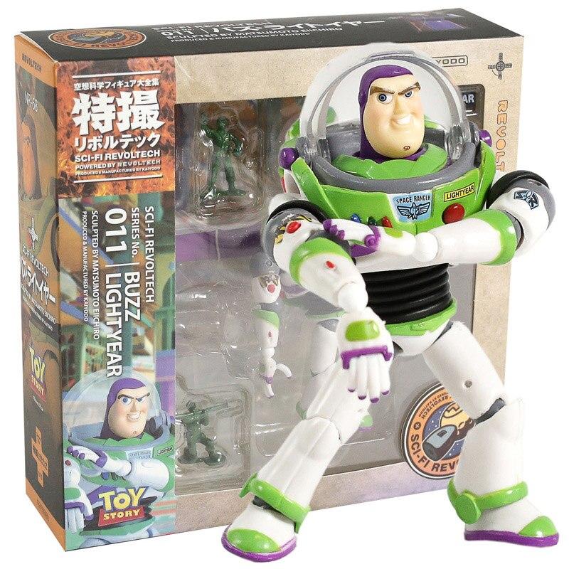 Revoltech Serie NO.011 Buzz Lightyear PVC Action Figure Sammeln Modell Spielzeug