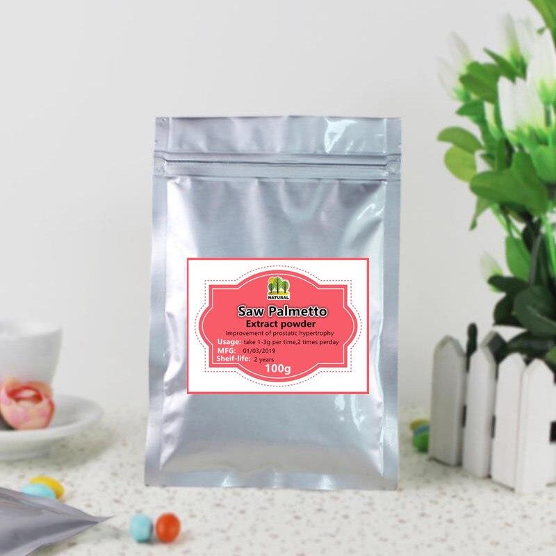 100g-1000g High-quality pure Saw Palmetto extract powder,Serenoa repens ,sawpalmetto,ju zong lv,free shipping