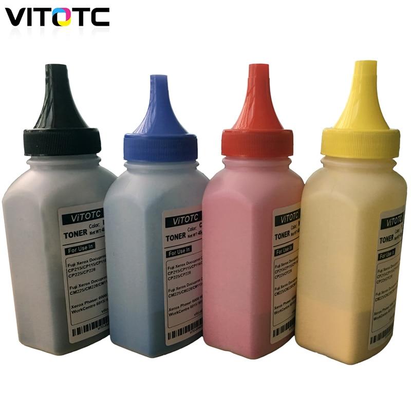 Toner Compatible For Xerox Phaser 6020 6022 6000 6010 WorkCentre 6025 6027 6015 6015V Laser Printer Color Powder Reset Refill
