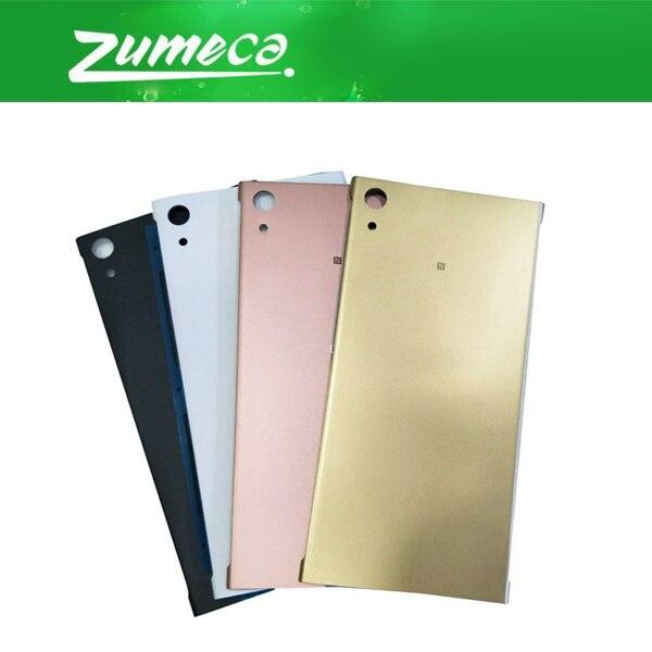 Carcasa Ultra para Sony XPERIA XA1 Ultra C7 G3221 G3226 Sony XA1, cubierta Ultra para batería, carcasa para puerta, cristal trasero negro blanco dorado rosa
