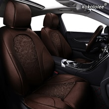 Kokolee-housse de siège de voiture   En tissu, personnalisé, pour KIA Sportage Optima Cerato Forte Soul RIO K2 K3 K3S K4 K5 KX3 KX5 KX7 KX 7