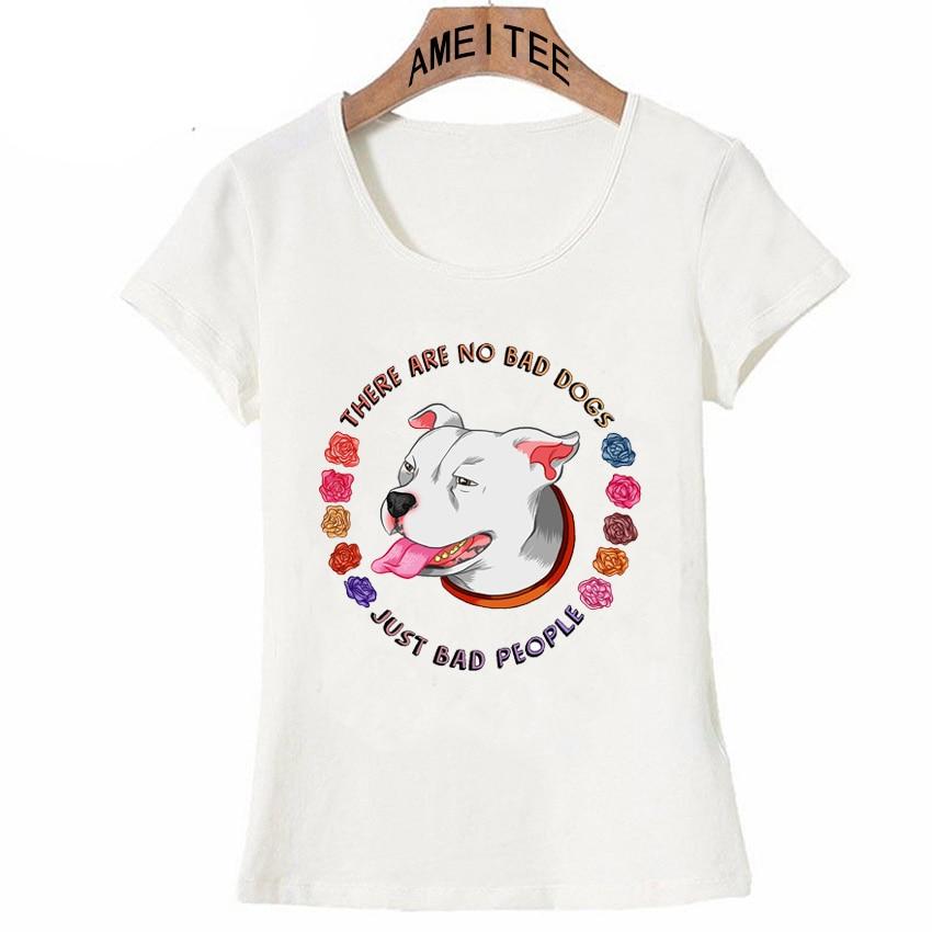 There Are No Bad Dogs Print T-Shirt Summer Fashion Women T-shirt Girl Punk Tops Cute Woman Tee Bulldog Design Short sleeve