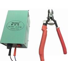24 v tesoura de calor elétrico nipper calor cortador lateral alicate diagonal alicate corte lateral ht180 y