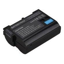 Meilleure vente 2550mAh EN-EL15 ENEL15 EN EL15 décodé caméra batterie pour Nikon DSLR D600 D610 D800 D800E D810 D7000 D7100 D7200 V1