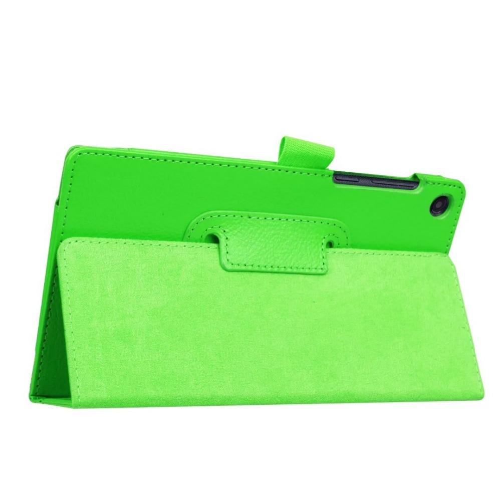 Ultra Fino Protetor Litchi Fique PU LEATHER Sleeve Case Capa Skin Para Lenovo Tab3 7 Essencial 710F 710I 7 polegada tablet Funda