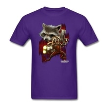 Creat your Metal Tee Shirts Mens Short Sleeve Twisted Rocket mens Shirt Luxury Evil Panda Costumes For Boyfriends