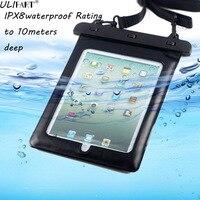 יוניברסל Tablet מקרה עמיד למים עבור 9.7 אינץ Ipad 2018 iPad Pro10.5 Air2 להגן יבש תיק פאוץ Tablet אביזרי Dropshipping