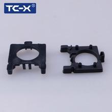 TC-X Para Focus3 Ford Um Par H7 LED Farol Lâmpadas Adaptador Base de Suporte