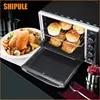 SHIPULE פונקציה רבת תנורי חשמל לבית BakingCakes52L צלחות נירוסטה אפיית תנור עם חם מיני קיבולת