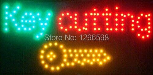 CHENXI-شاشة Led مقاس 10 × 19 بوصة ، عرض خاص ، قطع مفتاح داخلي فائق السطوع ، علامة متجر أعمال