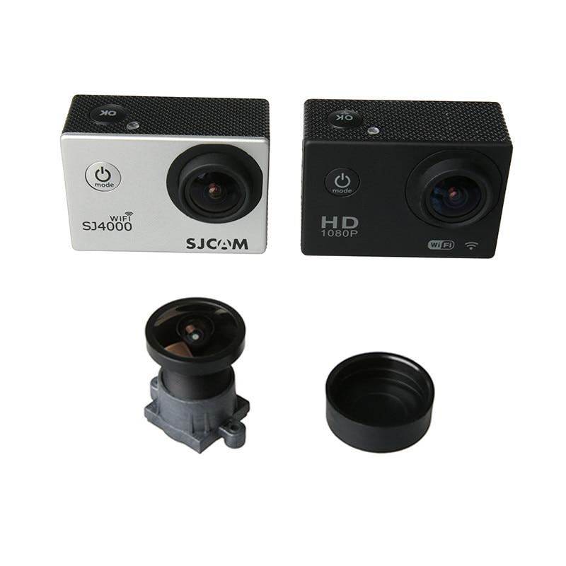 170 Graden Groothoek Vervanging Lens Voor Sjcam Sj4000 Sj5000 Sj6000 Sj7000 Sj8000 Sj9000 Plug Wifi Actie Camera Accessoires