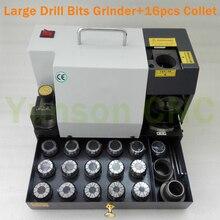 13 ~ 26mm brocas afilador amoladora 90 a 145 grados ángulo + 1 Uds rueda amoladora para HSS material brocas + 16 Uds ER40 Collets