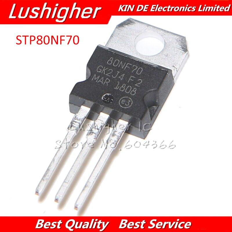 5 шт. STP80NF70 TO220 80NF70 TO-220 P80NF70 новый оригинальный