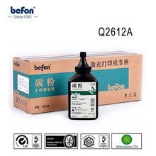 Befon Q2612A 2612a 2612 12a Poudre De Toner noire pour HP Q2612A 7115A 3906F 4092 CANON 303 toner/12A 1010 1020 1018 M1005 imprimante