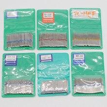 6 tipo 1.6mm dirll dental polimento sf série fg burs de alta velocidade para ferramenta de laboratório odontologia