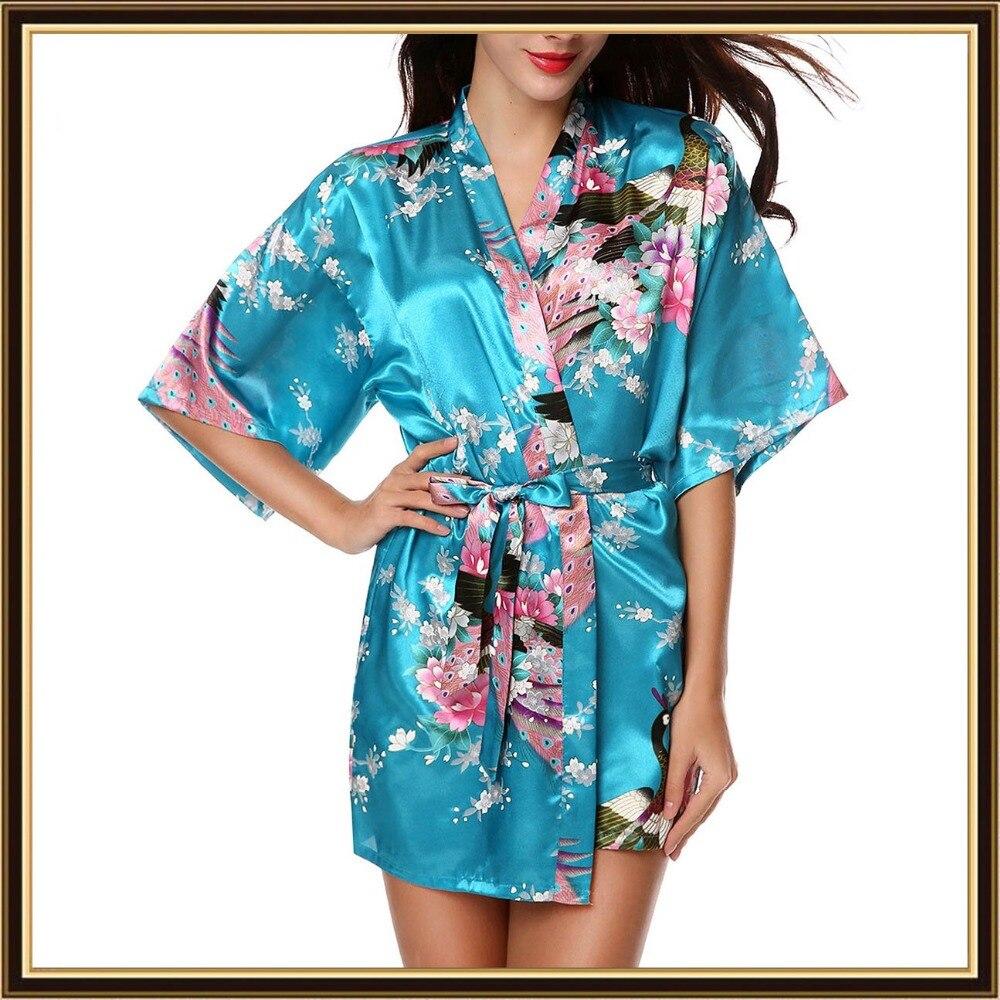 XXL большой размер атласные халаты женский халат сексуальный халат цветочный Атласный халат Femme Шелковый пеньюар Батас де Седа розовый атлас...