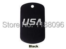 Baixo preço da alta qualidade Militar Dog Tag ID Barato De Alumínio Personalizado Gravado A Laser Gravado EUA tags hl80870