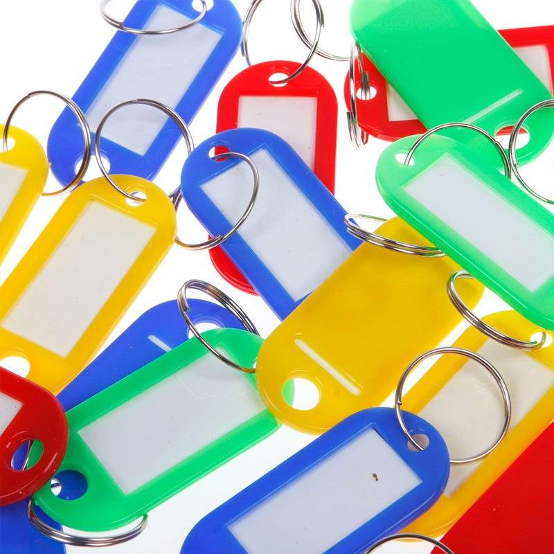 30 шт. пластиковые брелоки, разные брелоки, идентификационные этикетки, новые
