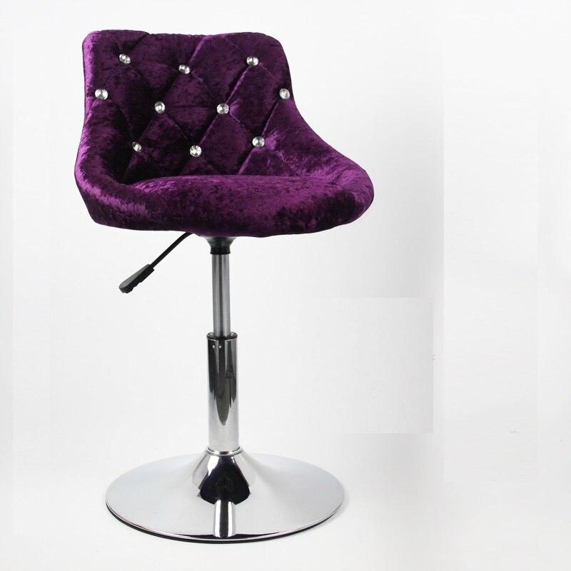 Барный стул современный минималистичный барный подъемник вращающаяся спинка