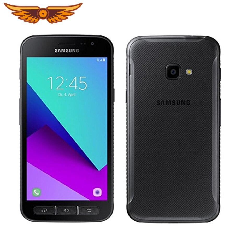 Original Entsperrt Samsung Galaxy Xcover 4 G390F Quad Core 5,0 Zoll 2GB RAM 16GB ROM 13,0 MP Android 4G LTE Handy Handy