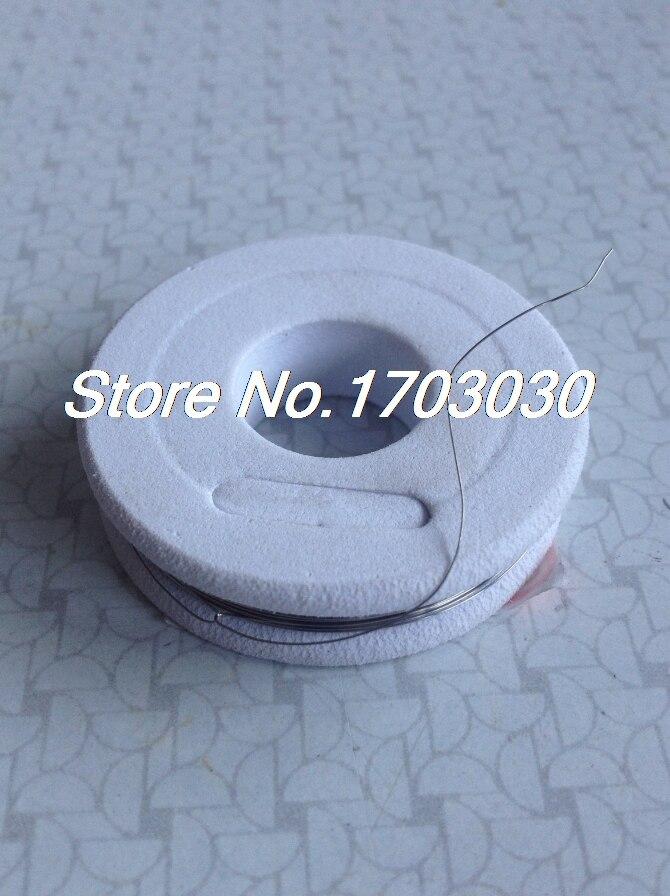 Cable de resistencia nicromo, 15 metros, 50 pies, AWG36 0,1mm para elementos de calefacción