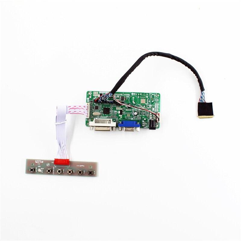 Placa controladora LCD RT2281 con soporte DVI VGA para 1920x1080 de 17,3 pulgadas panel lcd B173HW02 V1 N173HGE-L21 LP173WF1-TLA diy fácil