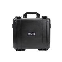 Boîte de rangement étanche mallette de transport de sécurité Portable de voyage Compatible pour Drone DJI Mavic 2 Pro/DJI Mavic 2 Zoom