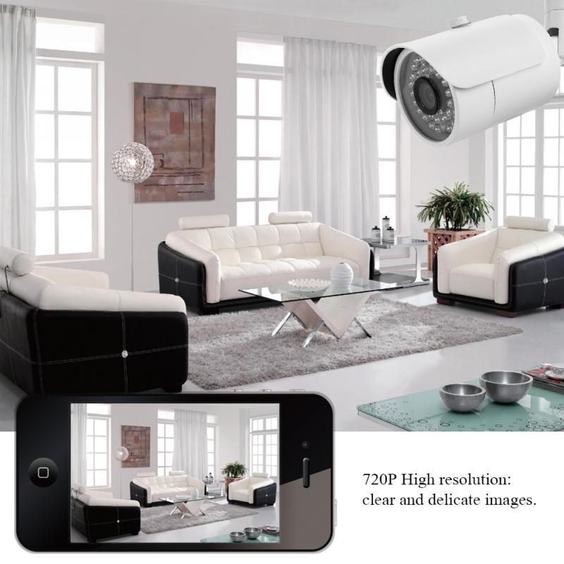 5 En 1 NVR videovigilancia HD 720P 1080N AHD DVR CCTV Kit de cámara de seguridad para el hogar gran oferta mejor