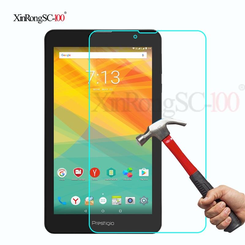 """Templado Film de vidrio para protección Protector de LCD para 7 """"pulgadas Prestigio MultiPad zabio/3057/3067/3087/3147 3G Tablet"""