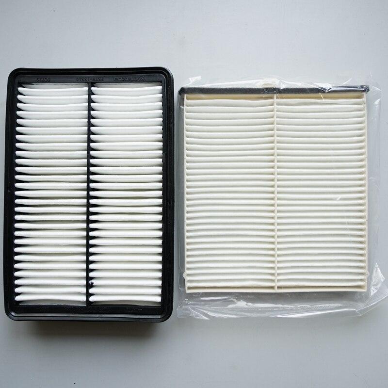 Qualidade filtro de ar do motor & filtro de ar da cabine apto para mazda 3 6 CX-5 KD45-61-J6X