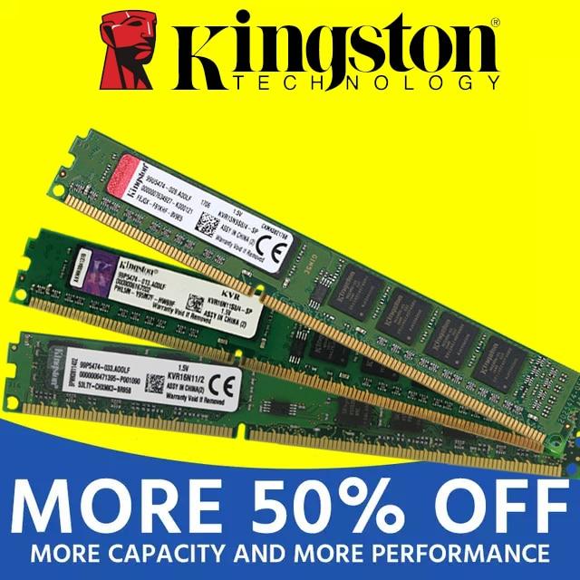 Kingston1GB 2GB PC2 DDR2 4GB DDR3 8GB 667MHZ 800MHZ 1333MHZ 1600MHZ 8G 1333 PC Speicher RAM Memoria Modul Computer Desktop