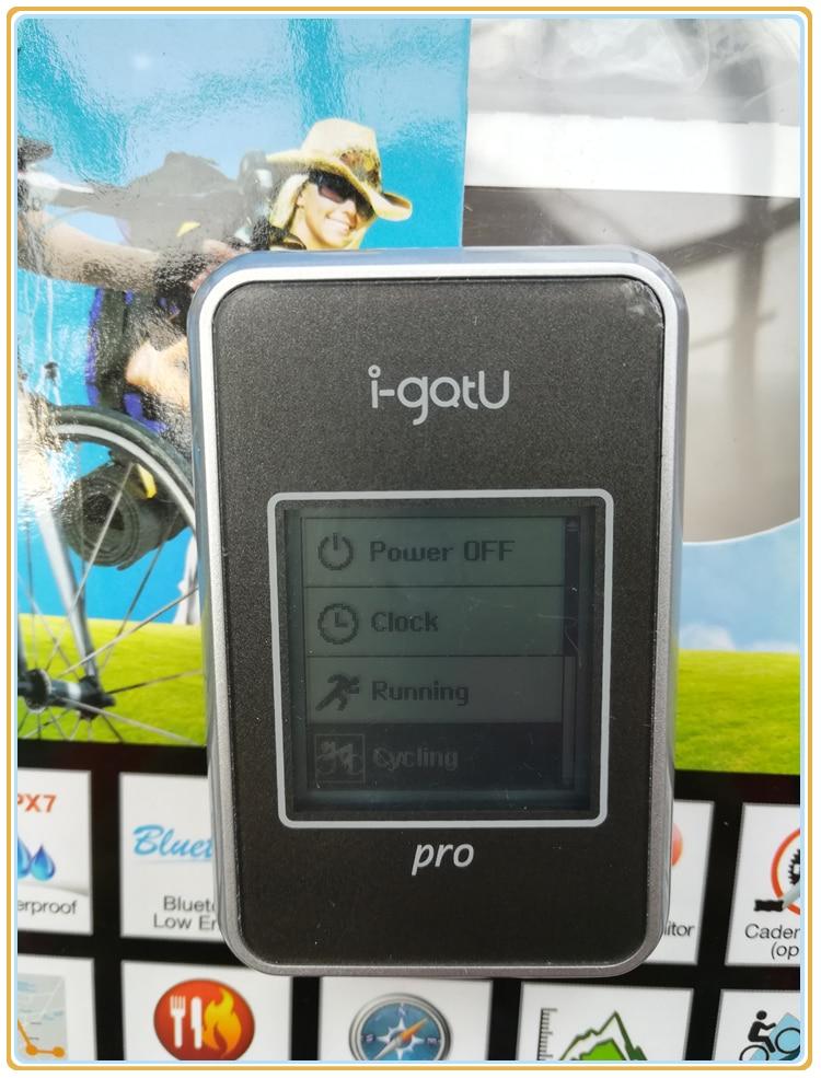 IPX7 водонепроницаемый I-gotu GT-820Pro GPS велосипед и дорожный компьютер GPS регистратор данных фото локатор барометрический альтиметр цифровой ком...