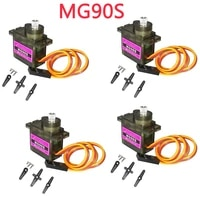 4pcslot mg90s micro rc servo 2kg cm 90 degrees helicopter airplane smart carfor arduino raspberry pi project