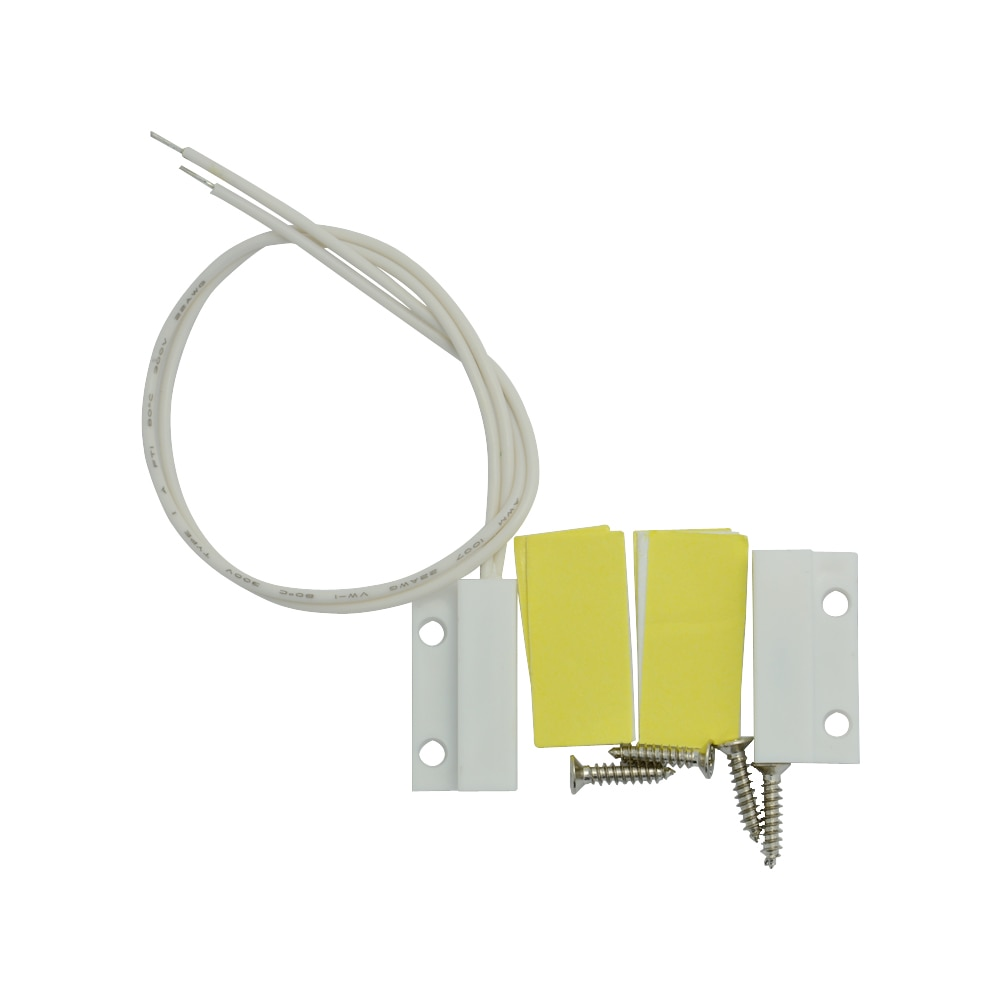 (20 PCS) White Color Plastic Wire Door contact sensor Magnet switch for door window alarm system anti intruder Magnetic Sensor