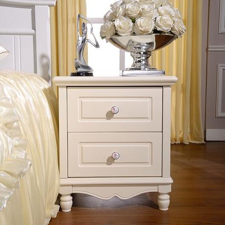 Тумбочки для спальни мебель дома белые цвета европейский и американский стиль