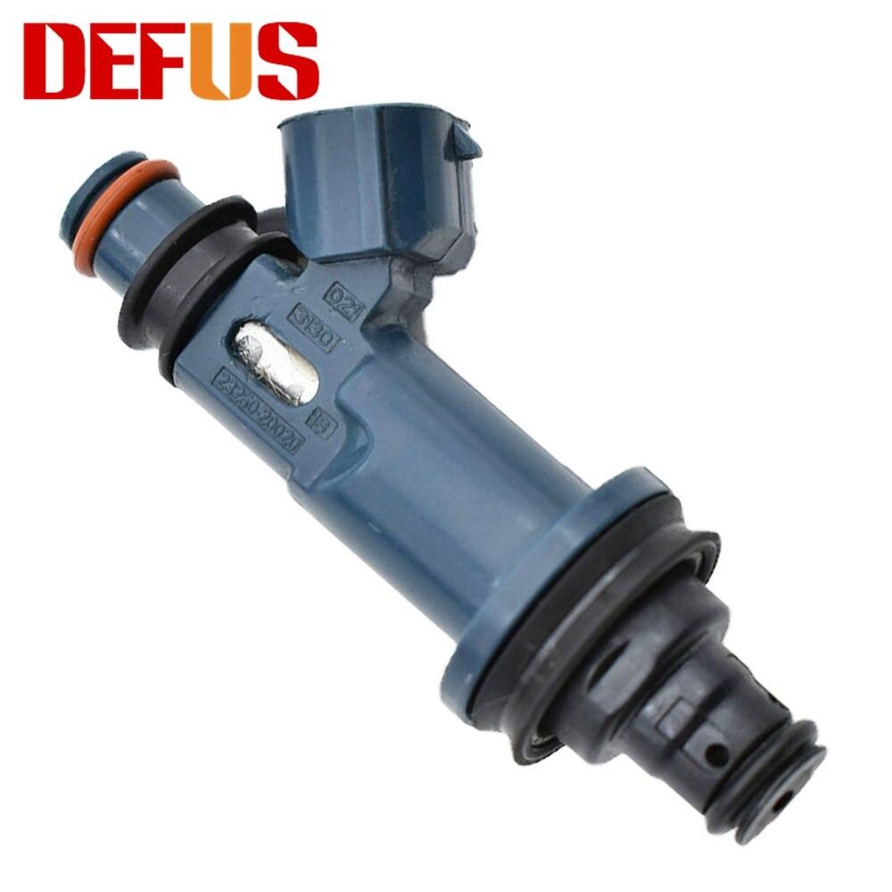 DEFUS Bico 4X 23209-20020 inyector de combustible para Toyota Camry Avalon Highlander Sienna Solara 3.0L V6 99-04 23250-20020 23250-0A010
