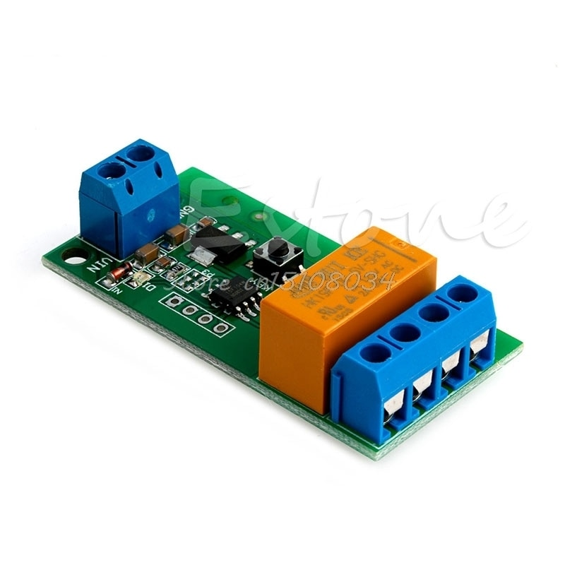 DC 5V ~ 12V мотор обратная полярность циклический переключатель таймер ретранслятор времени реле задержки S08 Оптовая и Прямая поставка
