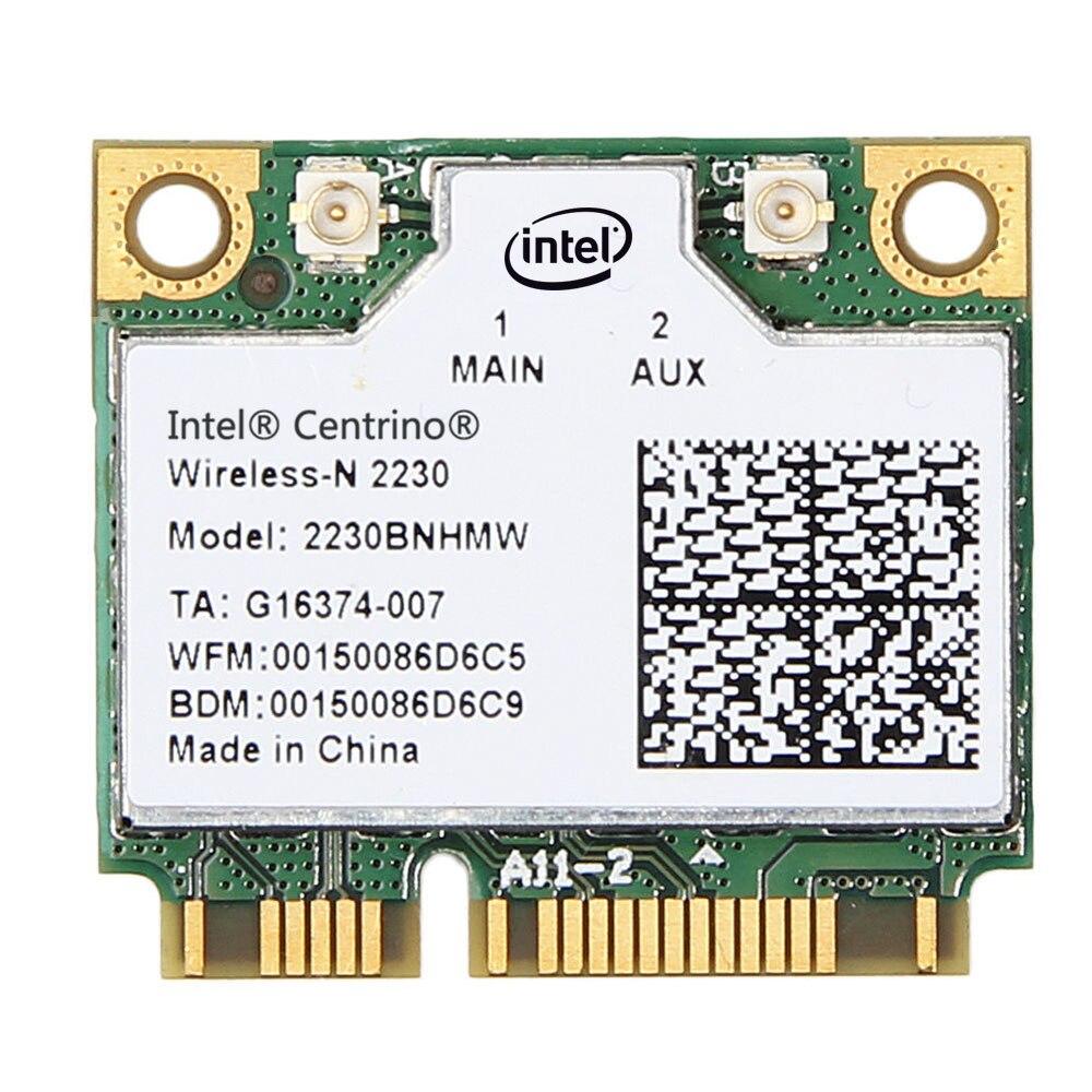 Intel Centrino Wireless-N 2230 2230BNHMW 300Mbps WiFi Bluetooth 4,0 medio Mini PCI tarjeta inalámbrica tarjeta de red