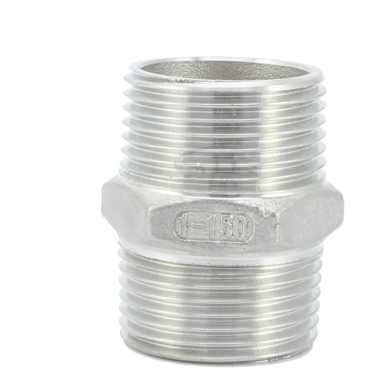 304 Hygienic Food-grade Stainless Steel  Fast-loading Hexagonal Wire Precision Casting Hoop-type External G-thread Jo