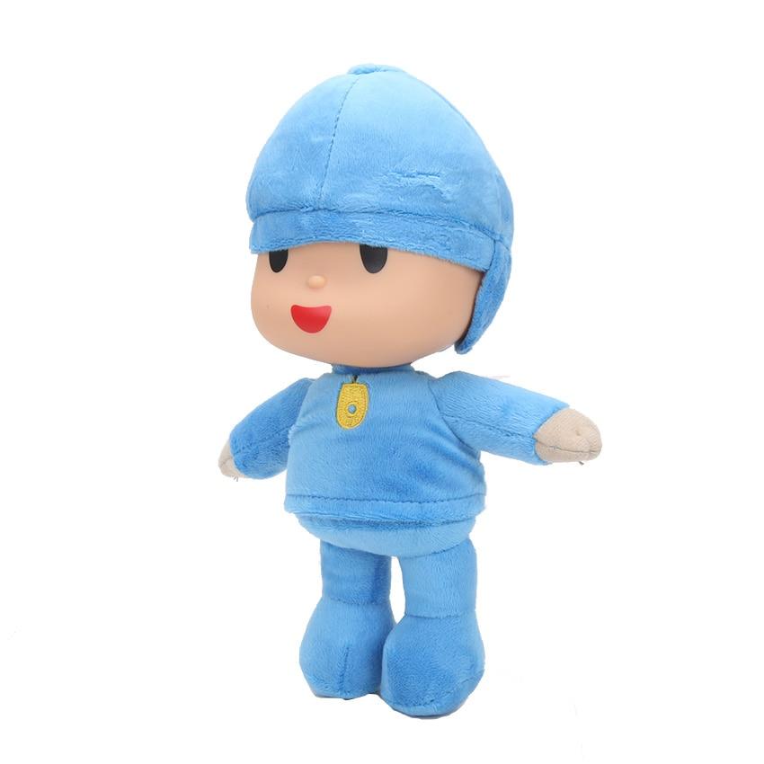 "10 unids/lote 10 ""25cm Pocoyo suave juguete de peluche de la muñeca"
