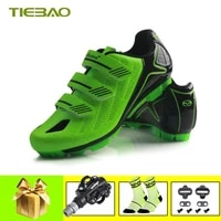 Tiebao Sapatilha Ciclismo Vtt Homme Velo Pedales SPD Vtt Chaussures Autobloquant Chaussures Vtt Homme Baskets