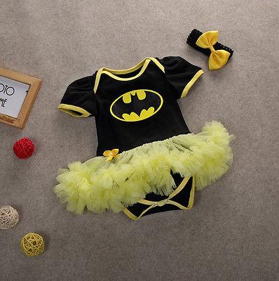 2016 г. Лидер продаж, платье-комбинезон с изображением Бэтмена для новорожденного, для первого рождественского костюма, для дня рождения, Супе...
