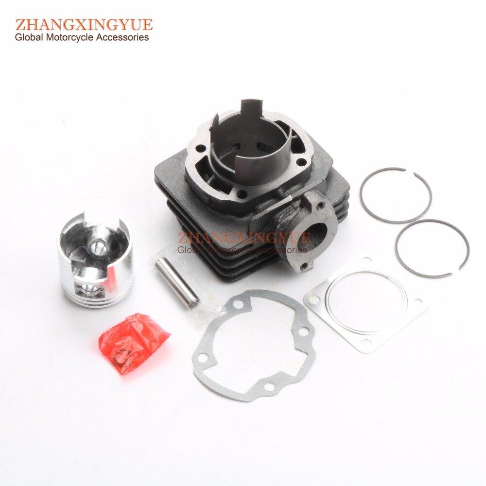 70cc Big Bore Zylinder Barrel Kit & Kolben Kit & Zylinder Dichtung für Suzuki Adresse 50 AD50 AG50 ZZ50 SF50 47mm/10mm 2T