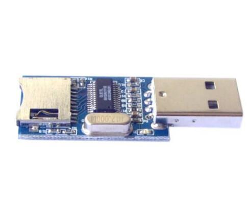 10 Uds. Módulo Lector de tarjeta MINI SD interfaz USB GL827